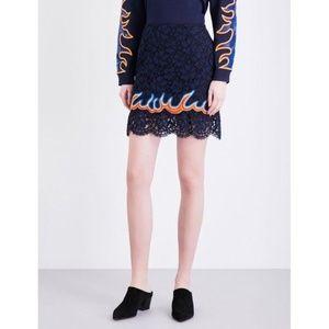 Sandro mini skirt Lace, Stones and Dresses